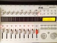 Zoom R16 Recorder/Interface/Controller Multi-track