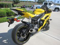 hello , this is a new Yamaha R6 for sale and has to be