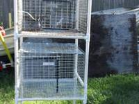 This is a space saver, for 24x24 cages, it is a wire