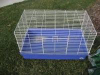 I'm selling my son's rabbit cage. It comes complete