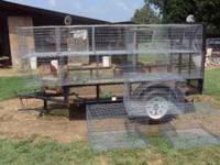 i have 2 10 foot 5 hole cages with 24x30 holes 1 @ $150