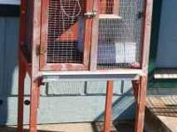 Rabbit hutch in good condition - would just maybe need