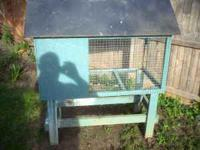 RABBIT HUTCH 2'W x 4'L frim $70.00 # Location: YORK