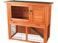 Trixie two-in-one rabbit hutch (light Pine) is ideal