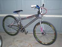 For sale: Supercross 24 inch race frame, Answer Forks,