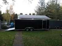 I have a new 24 foot V nose race car trailer. I woulda
