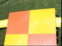 I have 192 sq ft of Race Deck Flooring in Bright Orange