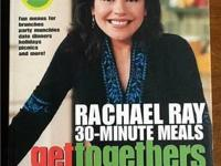 I am selling 2 Rachael Ray cooking books. These would