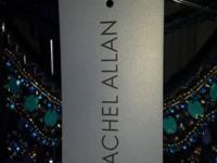 Rachel Allan Dress size 10 worn only once. Beautiful