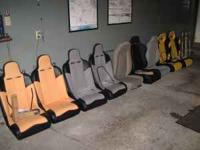 I HAVE MANY SETS OF NEW JEEP AND RACING SEATS ALL