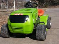 What I have here is a imow class racing mower modified