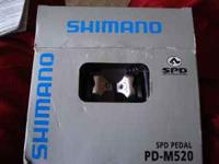 there brand new. They are shimano racing bike pedals.