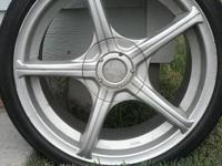 Low pro 17 inch racing wheel in excellent condition.