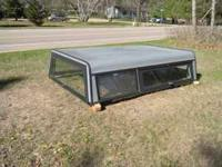 Radco aluminum topper. Side opening windows. Fits Ford