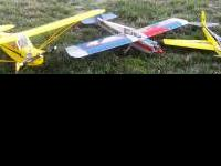 we have 3 radio controled planes and asking $1000.00