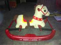 Like New Toddler bounce horse. Enjoyed by our daughter