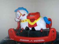 Bouncy horse for ages 6-36 months.Great
