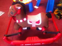 RADIO FLYER BOUNCY HORSE  EXCELLENT CONDITION  GRANDSON
