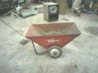 Radio Flyer Cart. Good condition 1 orginal wheel and 1