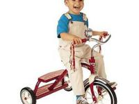 Radio Flyer Classic 12 inch Red Dual Deck Tricycle $