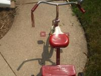 Radio Flyer Model # 33 Classic Tricycle. This Classic