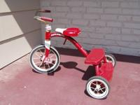 Radio Flyer Classic Red Tricycle. Recommended ages 2-6.