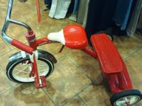 Very good condition Radio Flyer Dual Deck Tricycle with