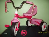 Age Range: 2-5 years  Pink trike comes fully assembled