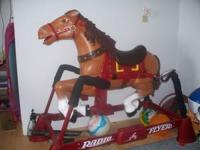 Radio Flyer horse for child lightly used &75.00 call
