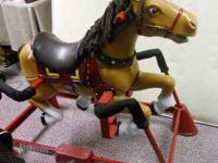 Liberty spring horse by Radio Flyer. used but in good