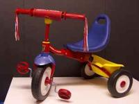 RADIO FLYER * METAL * FOLD-2-GO TRIKE – WOW! Wow