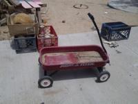 Radio Flyer Model 93B Metal Wagon. A little dirty, just