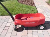 RADIO FLYER RED WAGON FOR $20. READY TO CRUISE YOUR