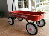 This classic full-sized Radio Flyer wagon has become a