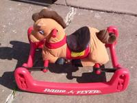 Radio flyer rock & bounce horse. Like new condition.