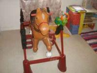 I have a Radio Flyer rocking horse for sale. The horse