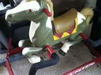 Radio Flyer Rocking Horse in perfect condition. My kids