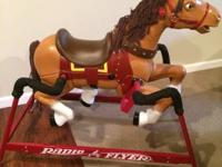 Radio Flyer Rocking Horse, great condition!