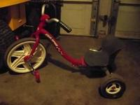 RADIO FLYER TAILSPIN TRIKE, BOUGHT BRAND NEW, EXCELLENT