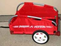 "RADIO FLYER TRAILER, ""Fold 2 GO"" Folding trailer, cloth"