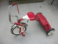 great shape radio flyer tricycle, was ridden very