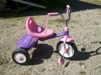 Pink and purple radio flyer trike, Pretty good shape,