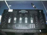 Radioshack model 32-118 four channel stereo mixer in