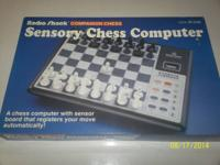 I have a radio shack sensory chess game in box in