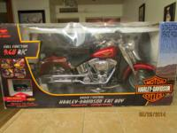 Harley-Davidson Fat Boy Red 9.6 v R/C by New Bright