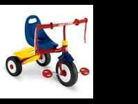 Radio Flyer fold and go tricycle, little wear on