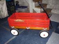 This is a radio flyer town & country wagon, has been
