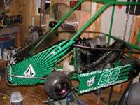 Rage Sr Champ kart 2005 or 06, exl condition, selling