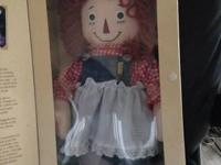 Raggedy Ann & Andy. Some in original box - with