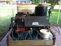 Rahsco Commerical Pressure Washer Hot/Cold water,